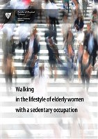Walking in the lifestyle of elderly women with a sedentary occupation