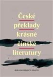 České překlady krásné čínské literatury